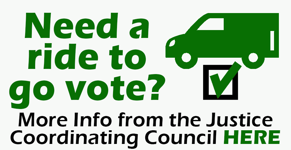 JCC-Need a ride to go vote - First Unitarian Universalist Church of Houston