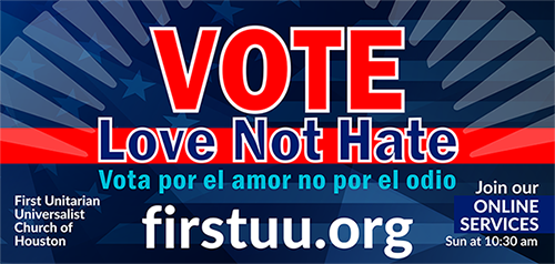 Vote Love Not Hate - Justice Coordinating Council