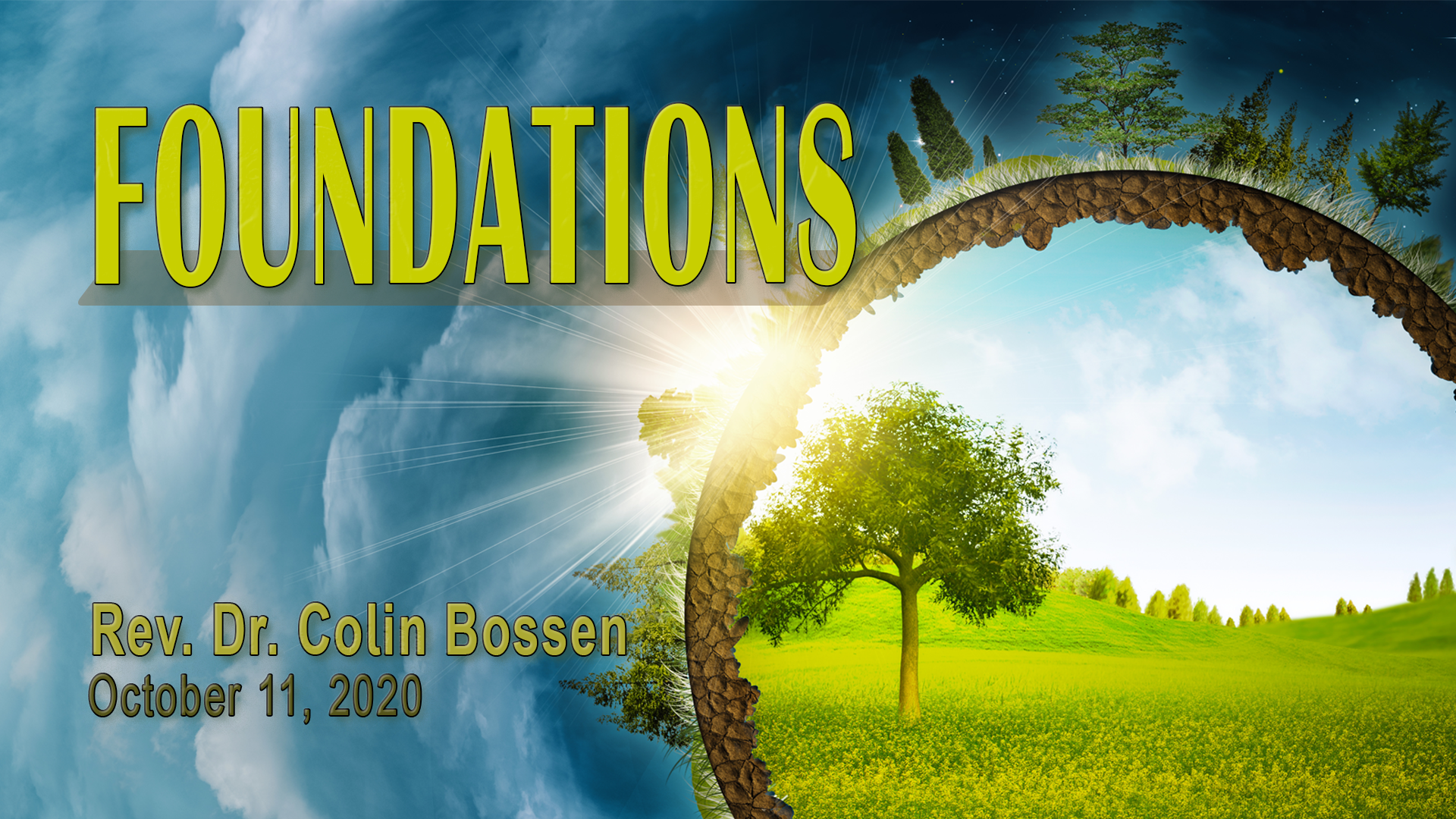 Foundations - First Unitarian Universalist Church of Houston - Oct 11-2020