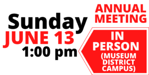 Annual Meeting Web Announcement