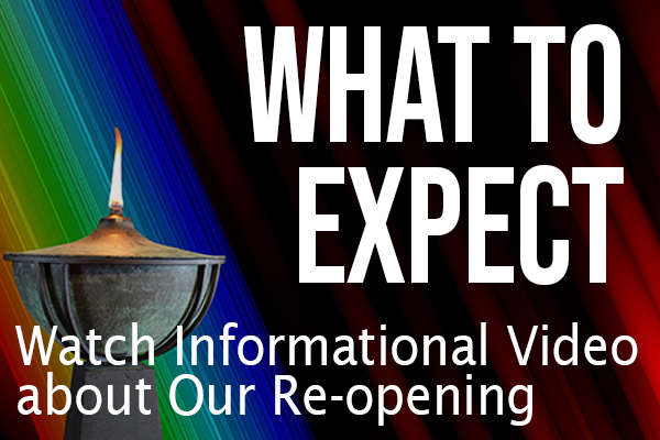 What to Expect Re-Opening for In-Person Services