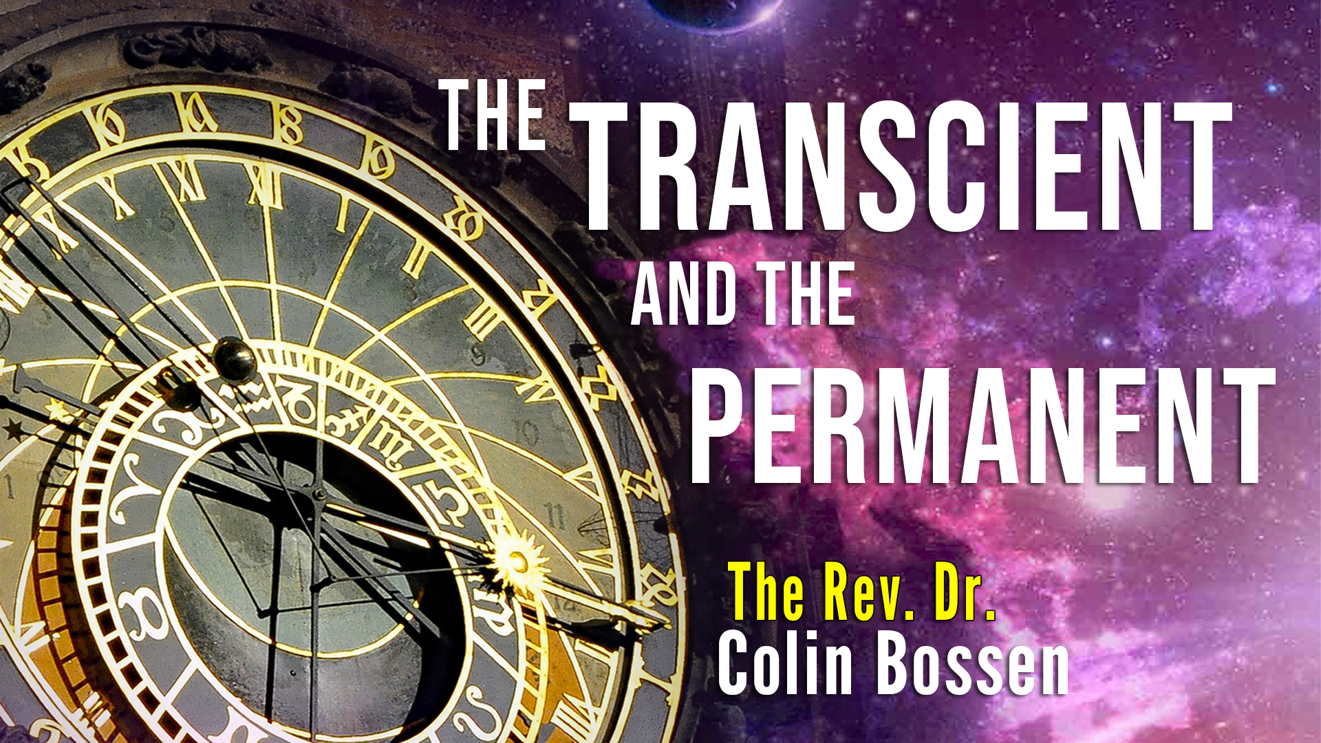 The Transient and the Permanent